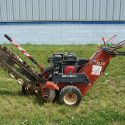 How to Use a Walk-Behind Trencher on Your Property
