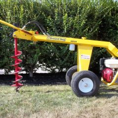 Ground Hog Hydralic Towable Auger