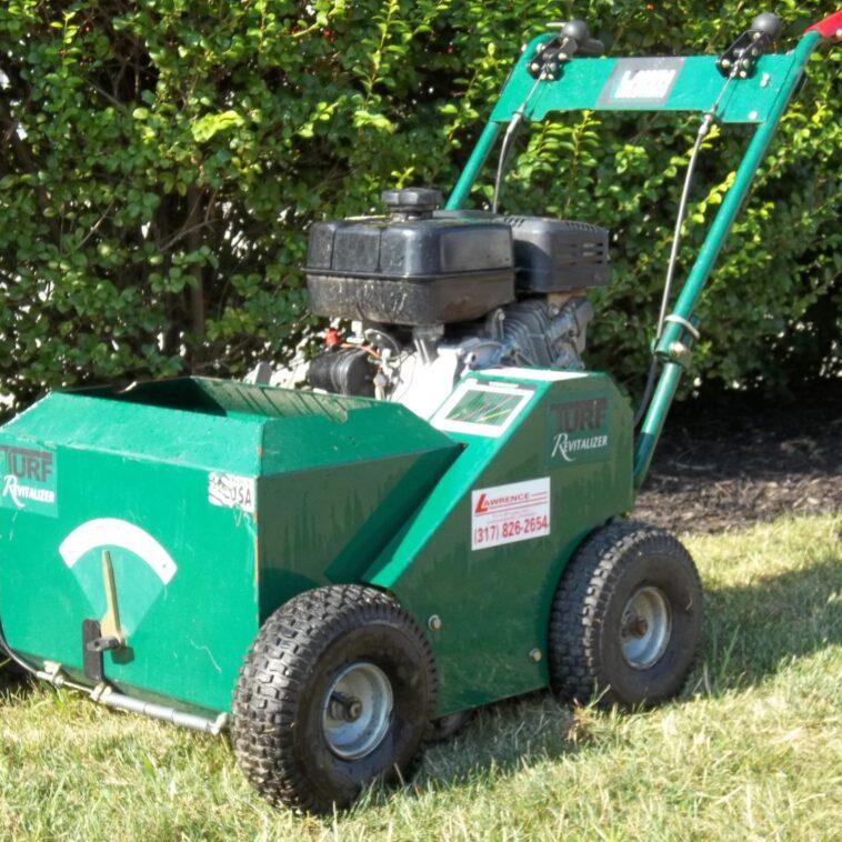 Lawn Solutions Self Propelled Slice Seeder
