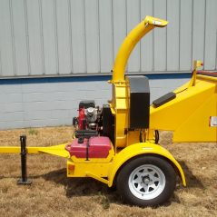 Power Tek Hydraulic Feed 6-Inch Chipper