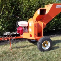 SalscoDrop Feed Wood Chipper 3-Inch