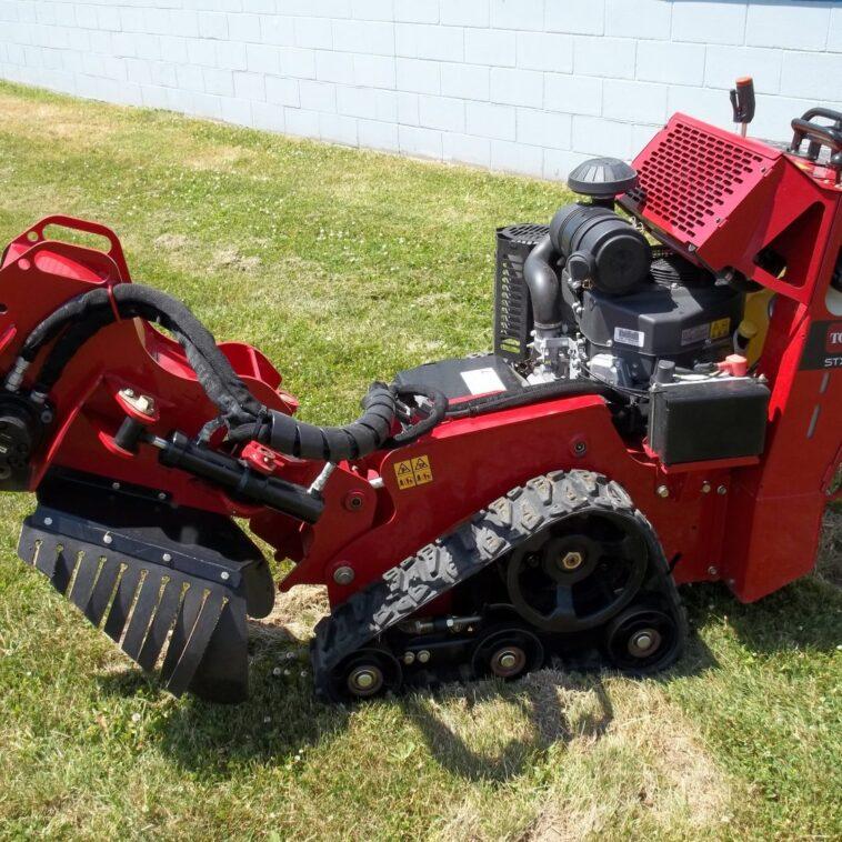 Toro STX26 Hydraulic Stump Grinder