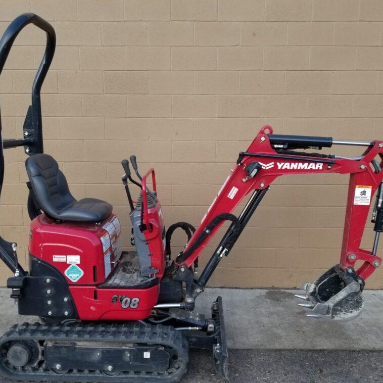 Yanmar Micro Excavator SV08